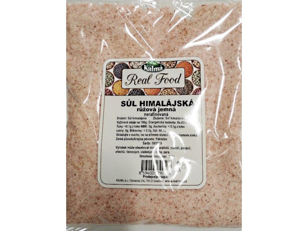 Himalájská sůl růžová jemná
