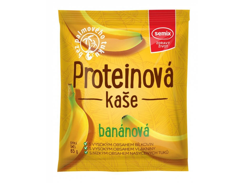 protein kaše banán