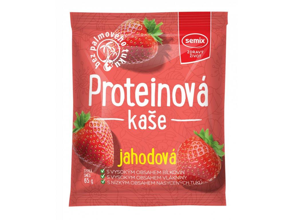 protein kaše jahoda