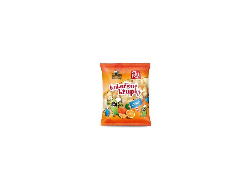 křupky pomeranč